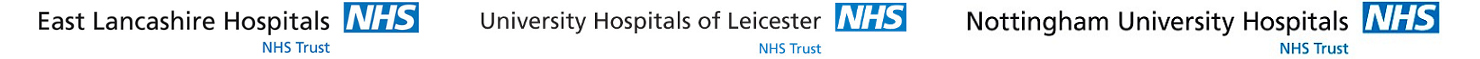 East Lancashire Hospitals NHS Trust, University Hospitals of Leicester NHS Trust